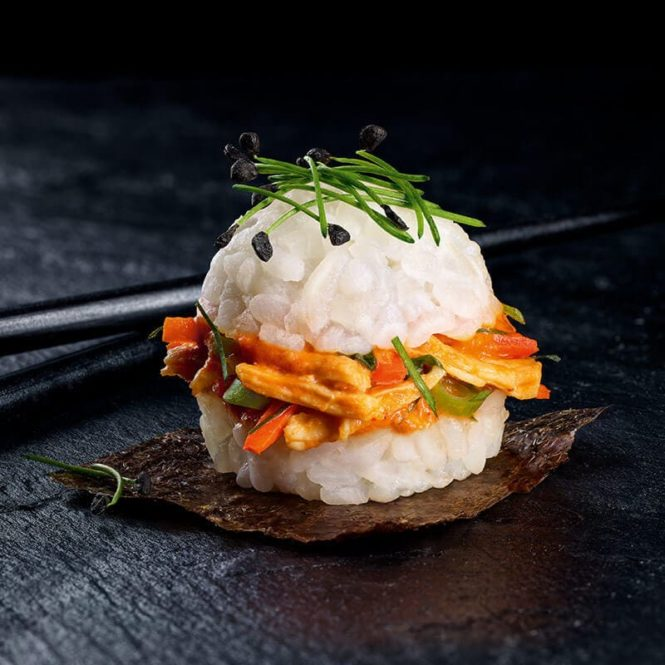 Asia Slider Chik'n Red Curry 2