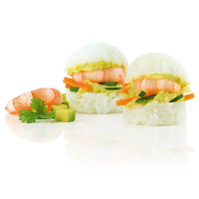 Asia Slider Shrimp Avocado
