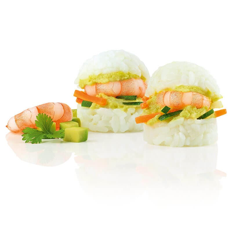 Asia Slider Shrimp Avocado