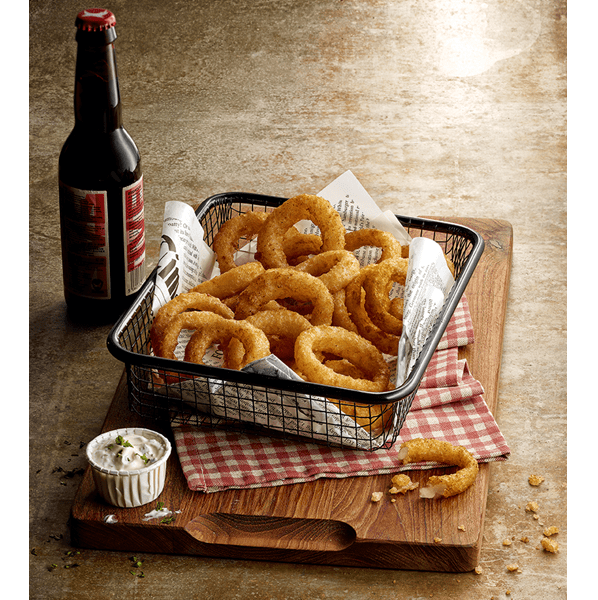 Beer Battered Onion Rings Thin Cut 2