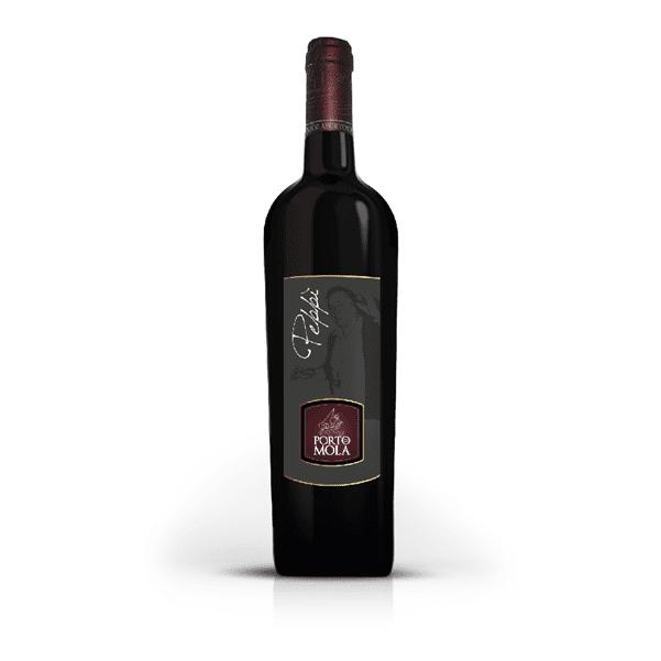 Vino rosso campano Peppì - Porto di Mola