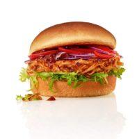 Pulled Chik'n Burger