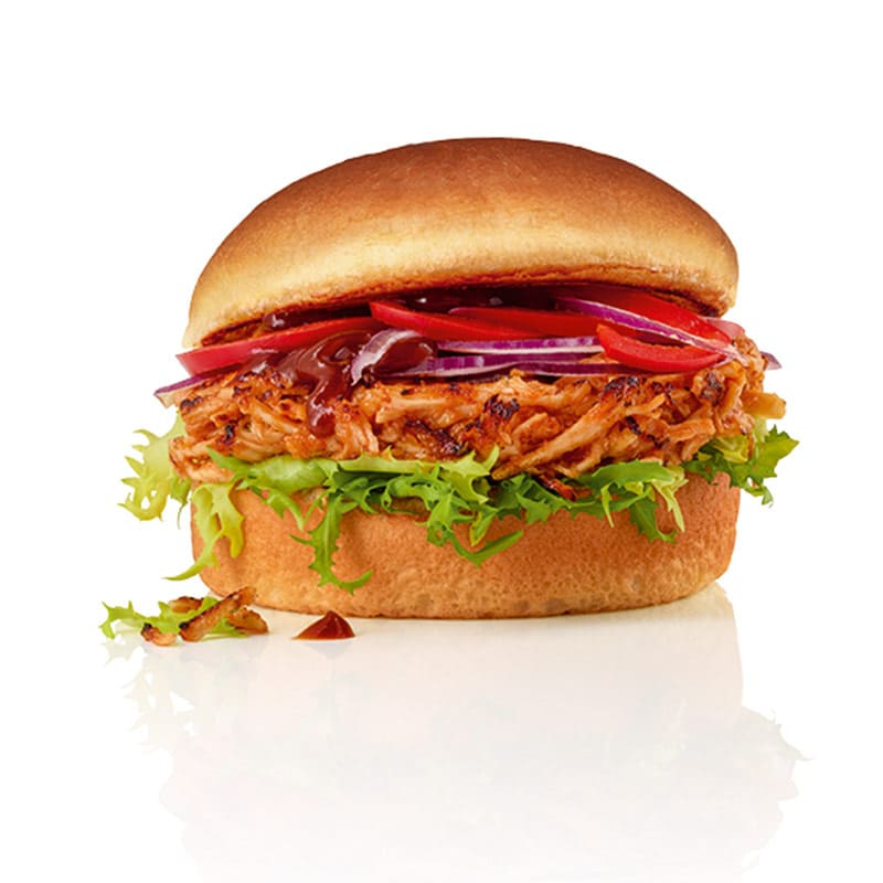 Pulled Chik'n Burger
