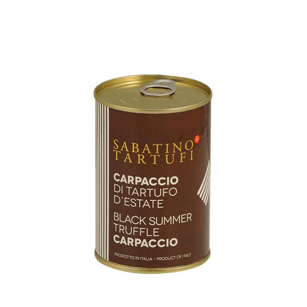 Carpaccio di tartufo nero d'estate 400g - Sabatino Tartufi