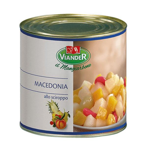 Macedonia sciroppata 2,5 kg - Viander