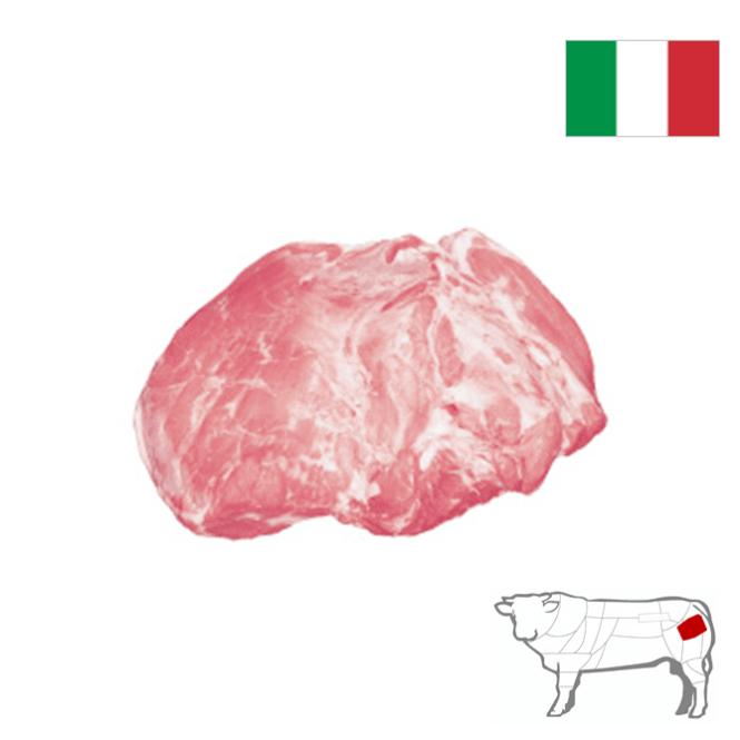 Fesa di vitello bianco Italia 6/7 kg S/V