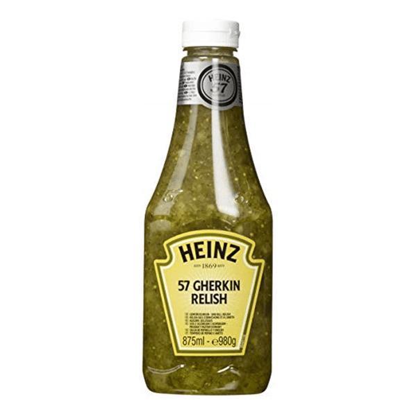 Gherkin Relish Squeeze 980g - Heinz
