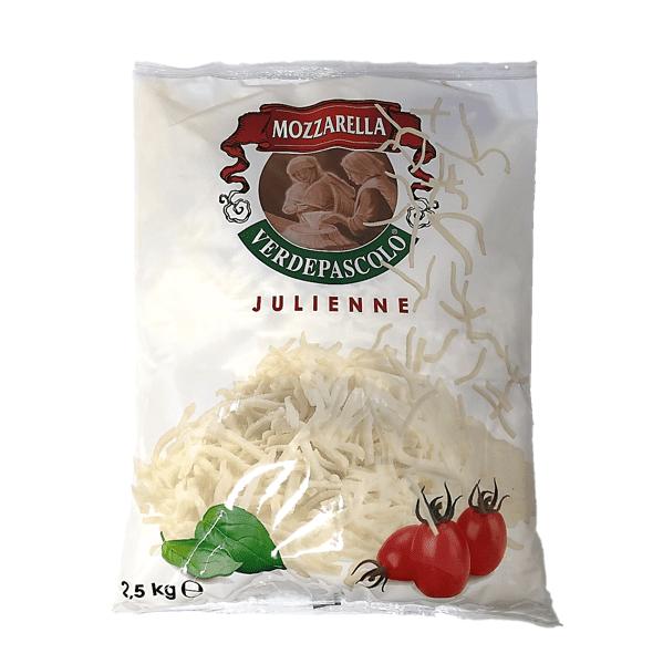 Mozzarella Julienne 2,5 kg - Verde Pascolo
