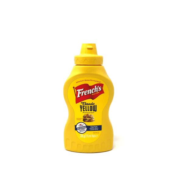 Senape Classic Yellow mustard 226g - French's
