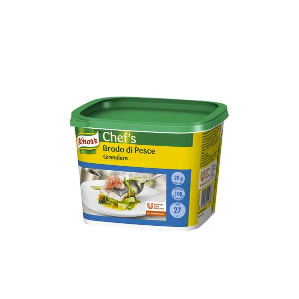 Brodo di pesce granulare 550g - Knorr