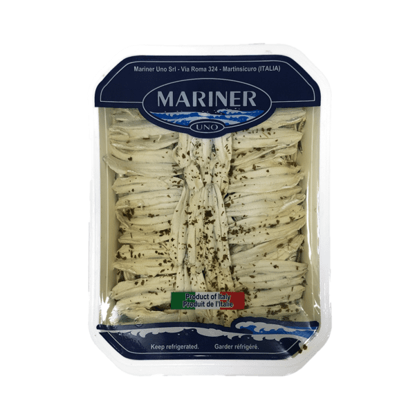 Filetti di alici marinate 2 kg - Mariner Uno