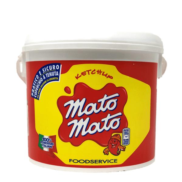 Ketchup MatoMato secchiello 5,5 kg - Kraft