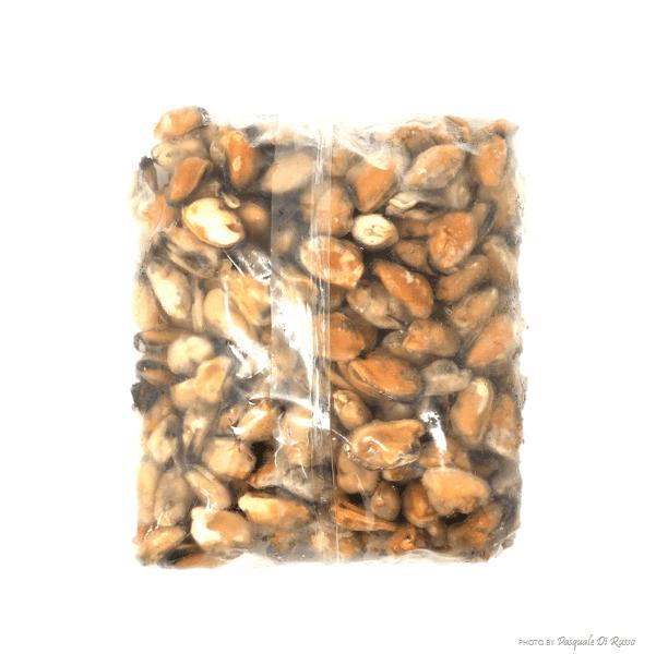 Cozze sgusciate 200/300 IQF Cile cg. 1 kg