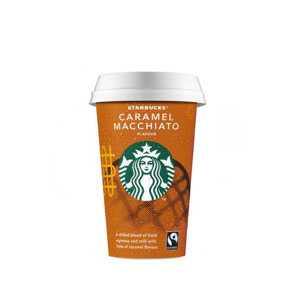 Cup Caramel Macchiato 220ml - Starbucks