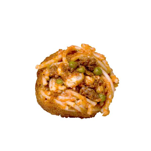 Arancina siciliana di spaghetti cg