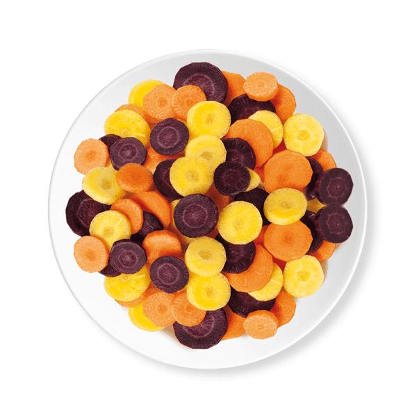 Tris di carote cg 450g